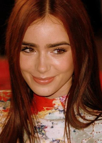 Lily Collins eyebrows Tony Shek