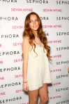 "Sephora Celebrates the Launch of Lindsay Lohan's ""Sevin Nyne"" - Arrivals"