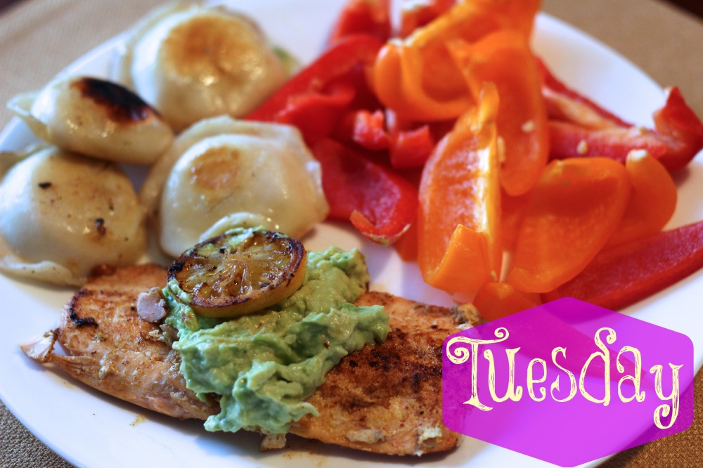 Tuesday Grilled Salmon