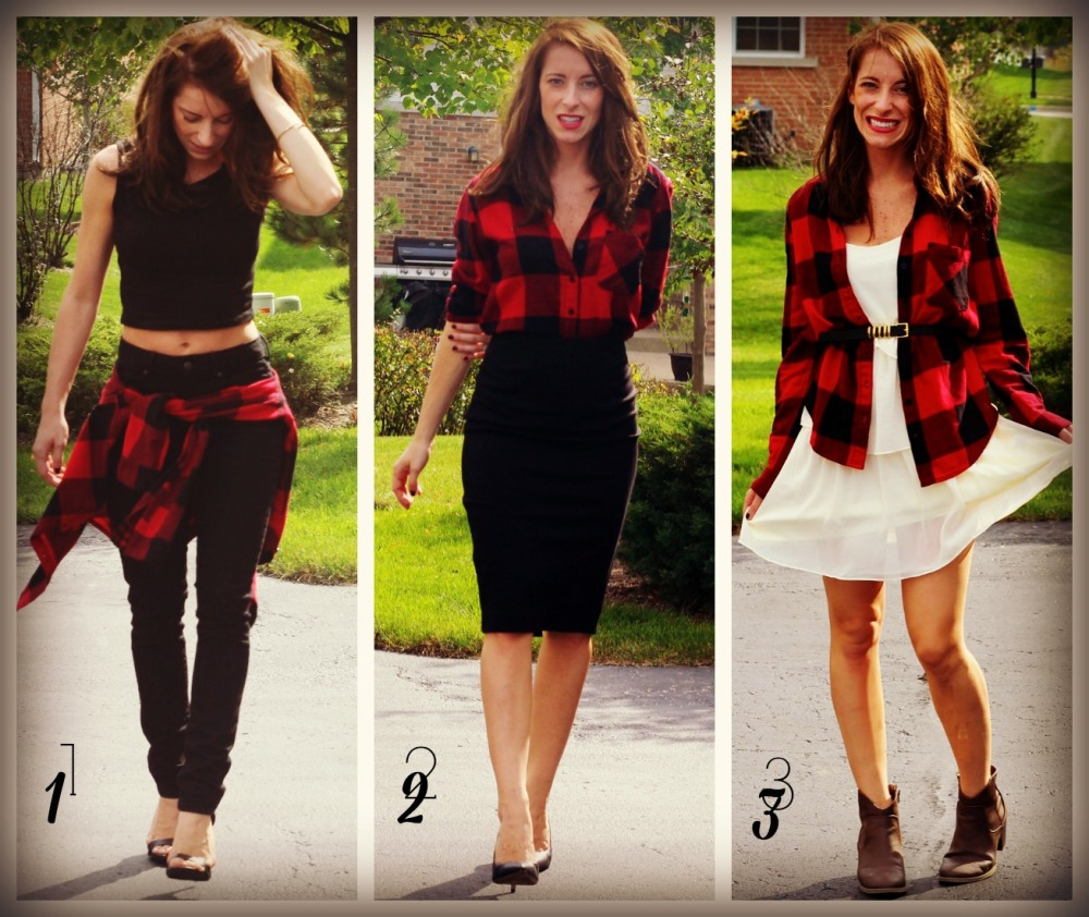 Flannel 3 Ways