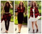 Flannel 3 Ways