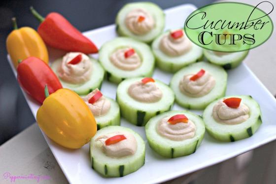 Cucumber Cups Snack