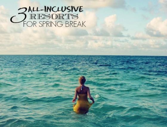 3 All Inclusive Resorts