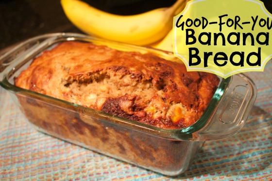 Good for You Banana Bread