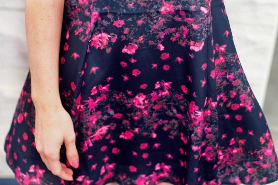 Floral Print Close Up