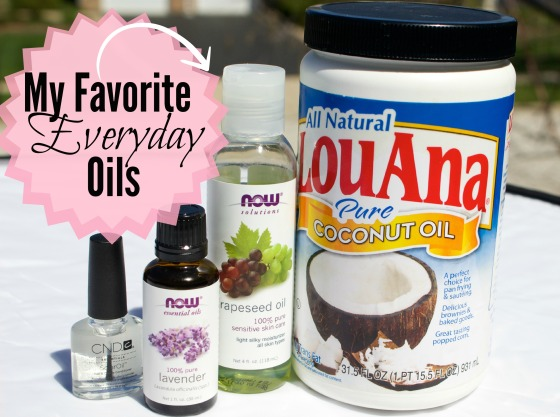 My Favorite Everyday Oils