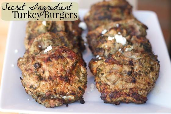 Secret Ingredient Turkey Burgers